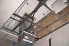 Controsoffitto a membrana REI 120 Knauf su solaio in legno